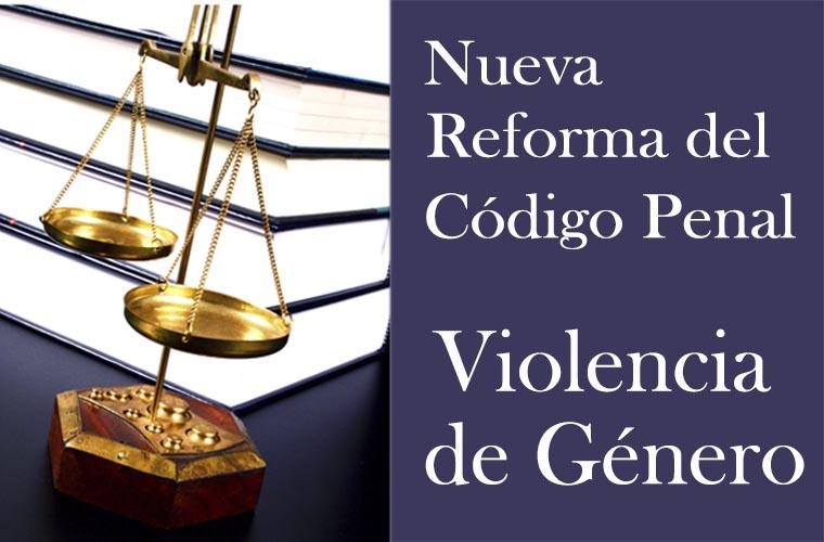 Reforma c digo penal violencia de g nero for Porte y trafico de estupefacientes codigo penal