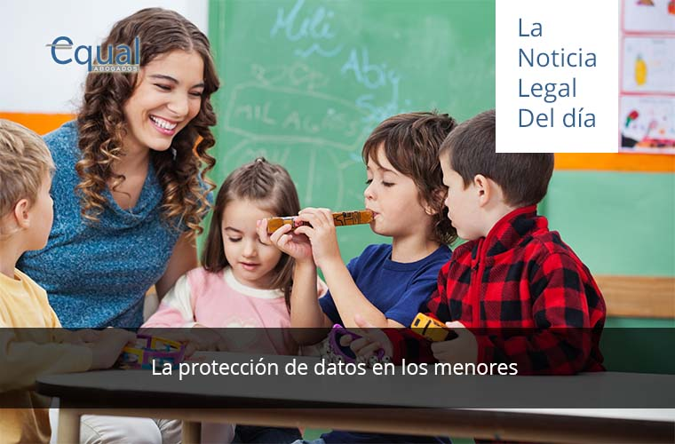 La protección de datos en los menores