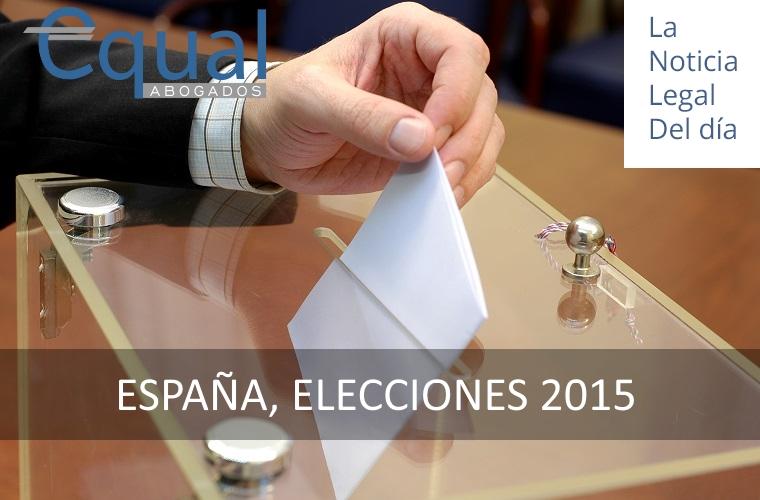 ESPAÑA, ELECCIONES 2015
