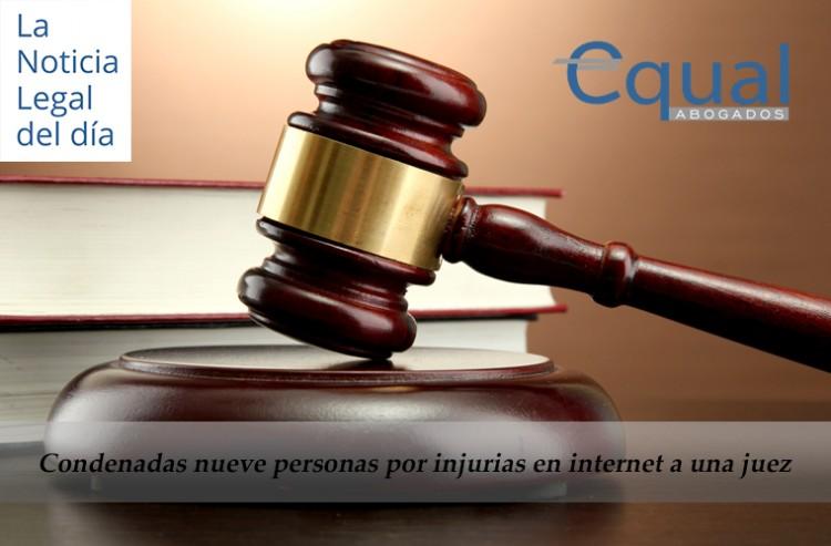 Condenadas nueve personas por injurias en internet a una juez